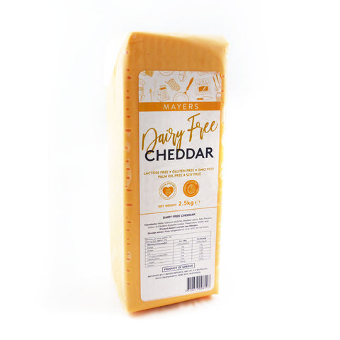 Mayers Vegan Cheddar Block 5x2.5kg