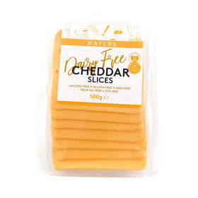 Mayers Vegan Cheddar Slices 12x500g