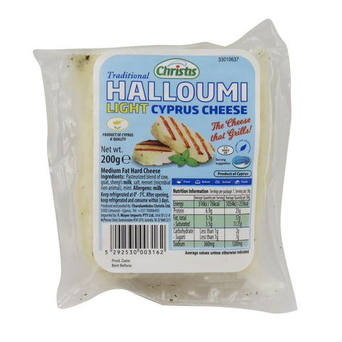 Christis Halloumi Light 11x200g