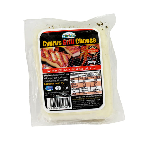 Christis Grill Cheese 12x200g