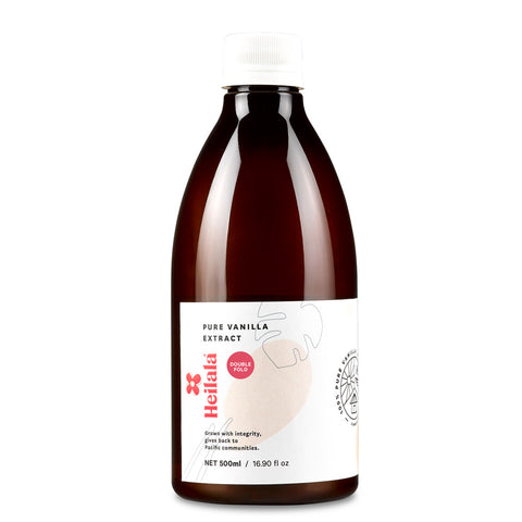 Heilala Vanilla Extract Double Fold 6x500ml