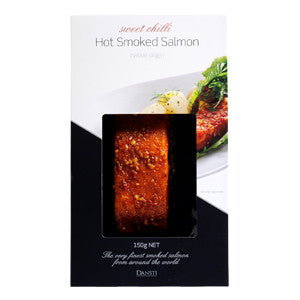 Dansti Hot Smoked Salmon Sweet Chilli 6x150g