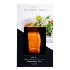 Dansti Hot Smoked Salmon Natural (6x150g)
