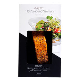 Dansti Hot Smoked Salmon Pepper 6x150g