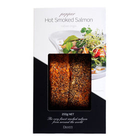 Dansti Pepper Hot Smoked Salmon 250g