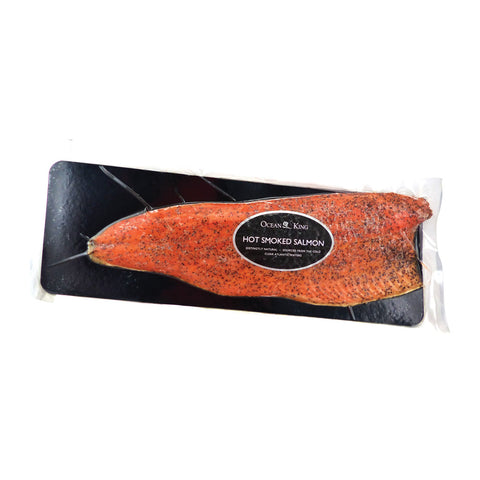 Ocean King Hot Smoked Salmon with Pepper 10x1.2kg