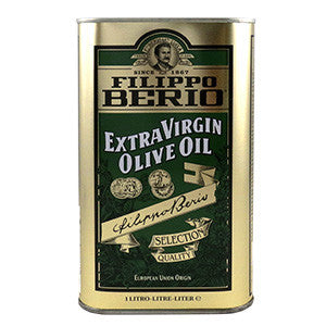 Berio Extra Virgin Oil 8x1L