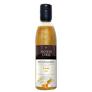 Antichi Colli Balsamic Decor Glaze Gold 250ml