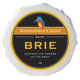 Kingfisher Creek Brie (6x180g)