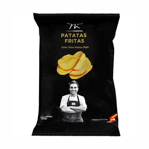 Miguel Maestre Salt Potato Chips 8x150g