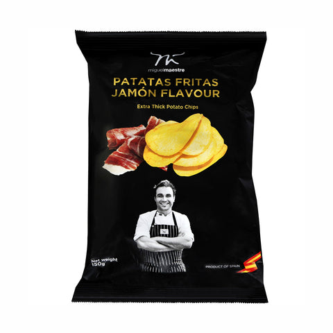 Miguel Maestre Jamon Potato Chips 8x150g