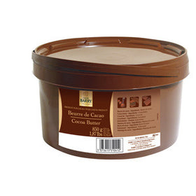 Cacao Barry Speciality Cocoa Butter (ea) (12 per ctn) (1 x 850g Tub)