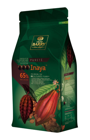 Cacao Barry Inaya Dark Couverture 65% 6x1kg Pistols