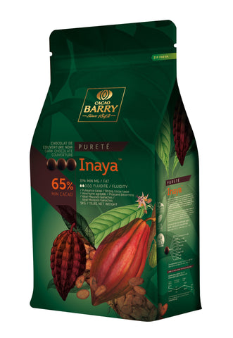 Cacao Barry Inaya Dark Couverture 65% 4x5kg Pistols
