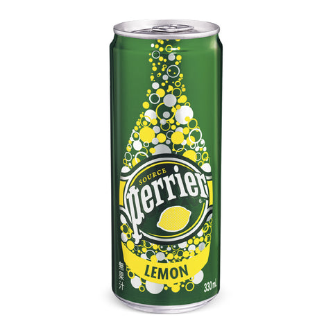 Perrier Lemon Slim Can 24x330ml