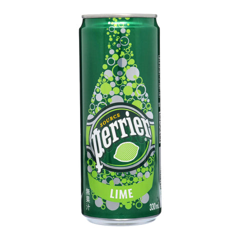 Perrier Lime Slim Can 24x330ml
