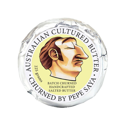 Pepe Saya Salted Cultured Butter 8(6x225g)