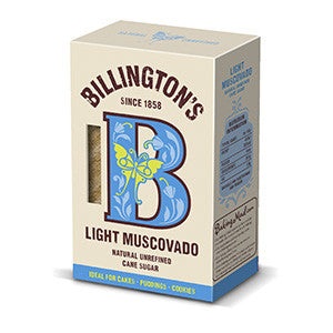 Billington's Light Muscovado 10x500g
