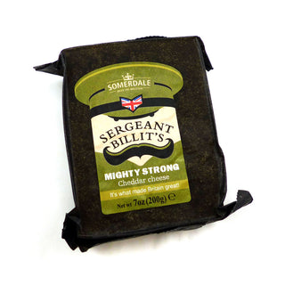 Somerdale Sergeant Billit's Strong Cheddar Cheese 12x200g