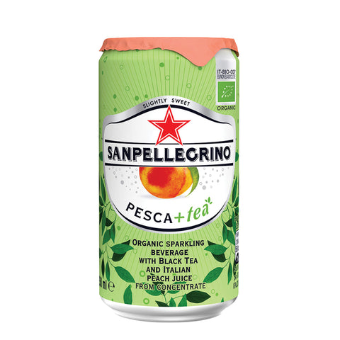 Sanpellegrino Sparkling Tea Peach 4x6x250ml