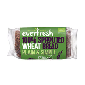 Everfresh Sprouted Wheat Bread 8x400g