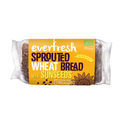 Everfresh Wheat Bread with Sunseeds 8x400g