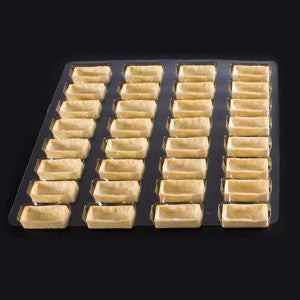 La Rose Noire Tart Shells, Vanilla Mini Rectangle 192x7g