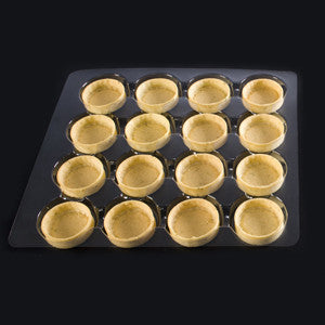 La Rose Noire Tart Shells, Vanilla Medium Round 96x12g