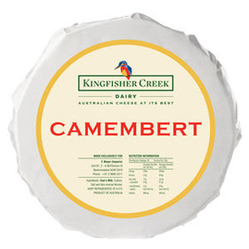 Kingfisher Creek Camembert (2x1.2kg)