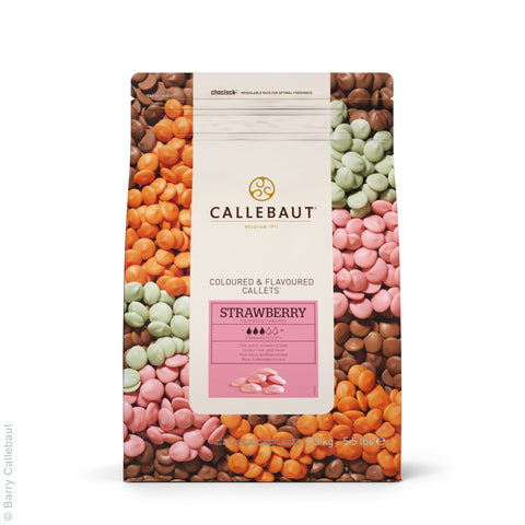 Callebaut Strawberry Callets 4x2.5kg