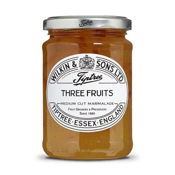 Tiptree Three Fruits Marmalade 6x340g