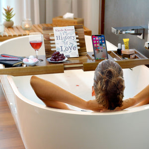 Bathtub Caddy & Laptop Bed Desk