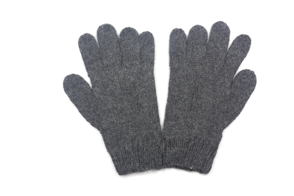 Concept store brussels Bellepaga baby alpaca grey twisted gloves two