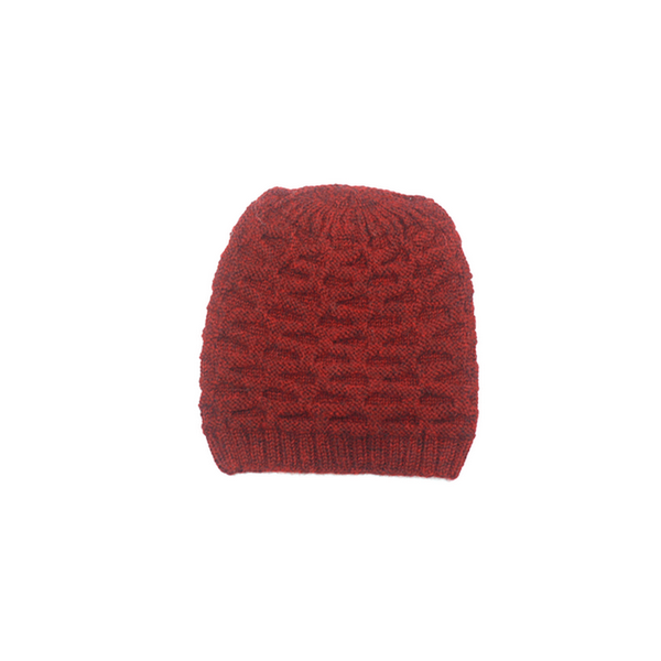 Concept store brussels Bellepaga baby alpaca red dune beanie one