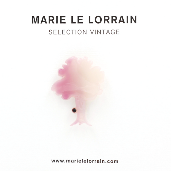 Concept store brussels Marie Le Lorrain Mauve Tree brooch
