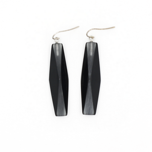Concept store brussels Marie Le Lorrain black adele earrings