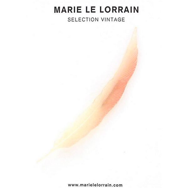 Concept store brussels Marie Le Lorrain pink feather brooch