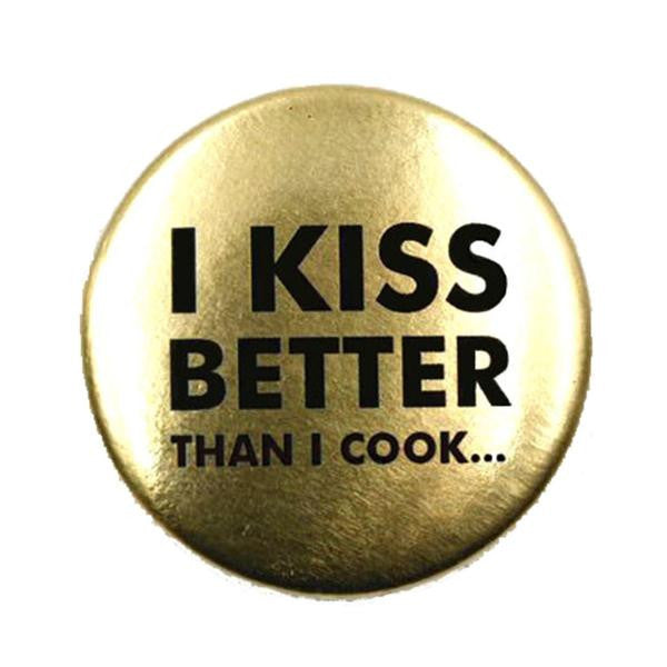 I kiss better than i cook olivia hainaut badge ernest concept store