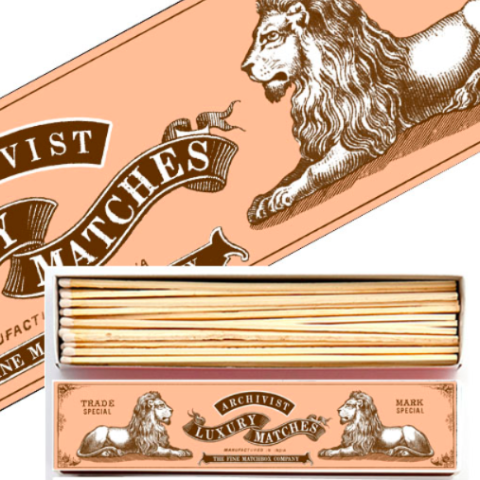 Lion Long Matchbox
