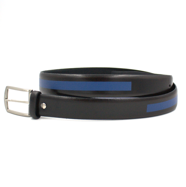 Black and blue belt