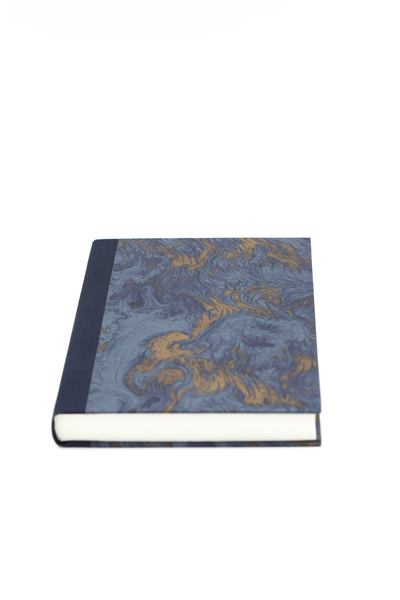 Notebook blue marbled atelier vo brussels concept store two