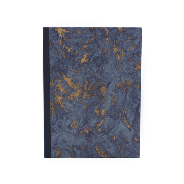 Notebook blue marbled atelier vo brussels concept store