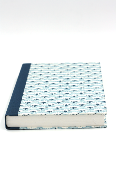 Notebook blue waves atelier vo brussels concept store