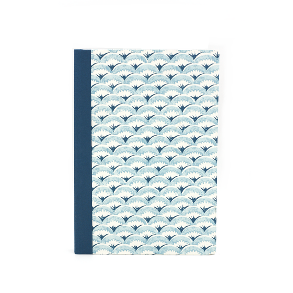 Notebook blue waves atelier vo brussels concept store cover