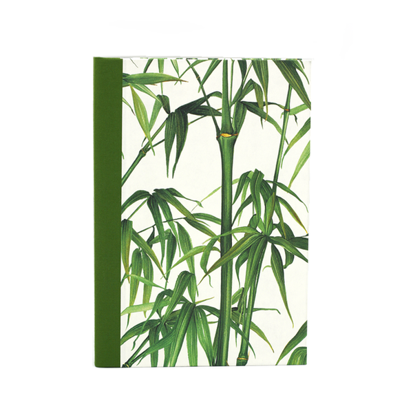 Notebook green bamboo atelier vo brussels concept store cover