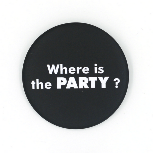 """Where is the PARTY ?"""