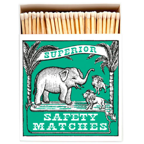Elephant Matchbox