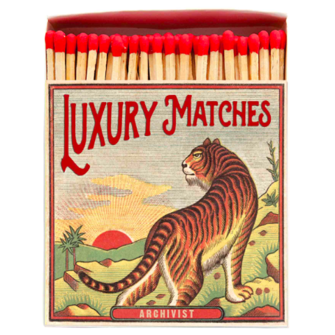 New Tiger Matchbox