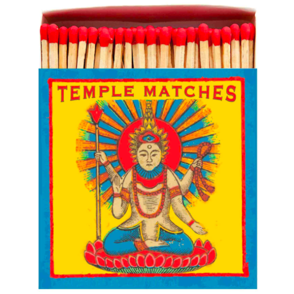 Temple Matchbox