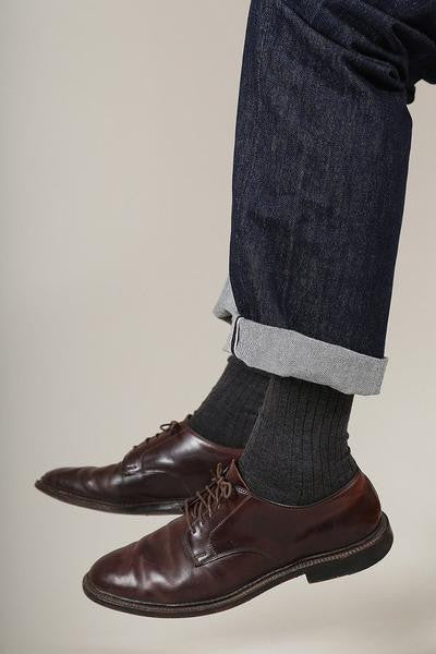 antracite grey socks escuyer brussels concept store two
